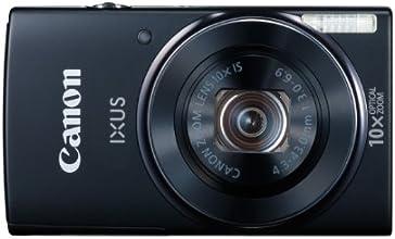 Canon IXUS 155 Digitalkamera (20 Megapixel, 10-fach opt. Zoom, 6,8 cm (2,6 Zoll) LCD-Display, HD-Ready) schwarz