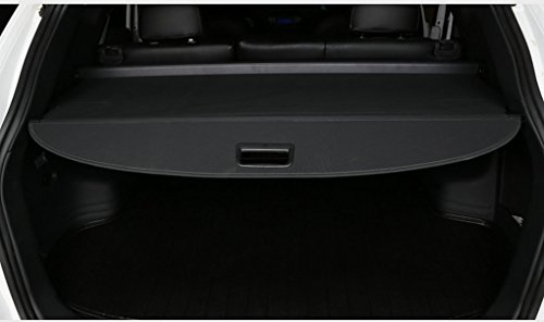 iPerfect Car Retractable SUV Security Rear Trunk Cargo Cover Shield Fits for 2014 2015 Nissan Rogue Cargo Cover (Black) (Cargo Shade Nissan 2014 compare prices)