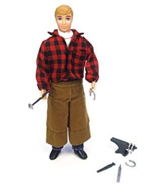 Breyer 8 Farrier Jake with Blacksmith Tools