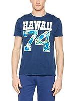 Franklin & Marshall Camiseta Manga Corta (Azul)