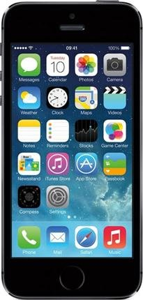 Apple Iphone 5S 16Gb Factory Unlocked Smartphone & Retina Display & Touch Silver