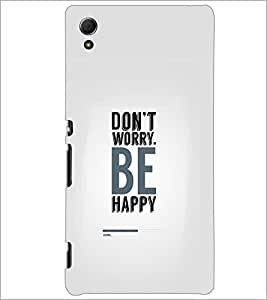 PrintDhaba Quote D-2321 Back Case Cover for SONY XPERIA Z4 (Multi-Coloured)