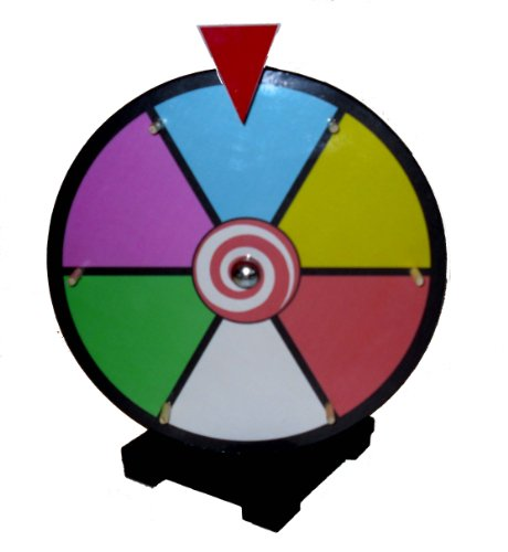 12 Inch Dry Erase Spinning Prize Wheel