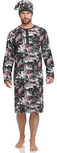 cornette-chemise-de-nuit-homme-110v2015-graphitealfa-romeo-xxl