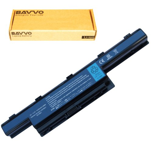 Bavvo 6-stall Laptop Battery for Acer Aspire 5741-H32C/S 5741-H32C/SF 5741-H54D/LS Battery 31CR19/652 AS10D31 AS10D51