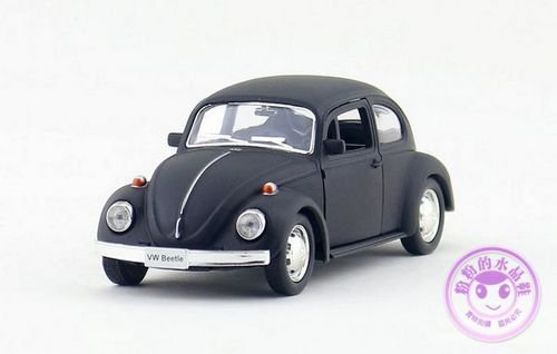 1:32 Volkswagen VW Beetle Alloy Diecast Car Model Toy Vehicle Gift Black B2524 (Pro Stock Model Car Kits compare prices)