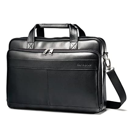 Samsonite Leather Slim Brief