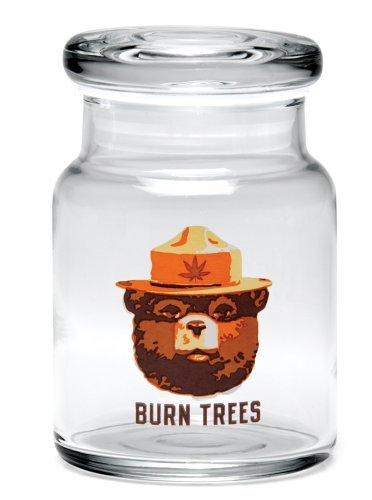 Burn Trees Pop Top Jar - Various Sizes (Small)