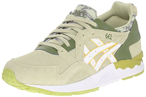 ASICS Women's Gel-Lyte V Retro Running Shoe, Winter Pear/White, 8.5 M US