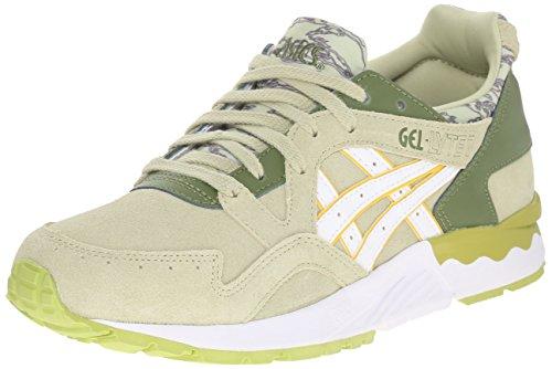 ASICS Women's Gel-Lyte V Retro Running Shoe, Winter Pear/White, 8.5 M US