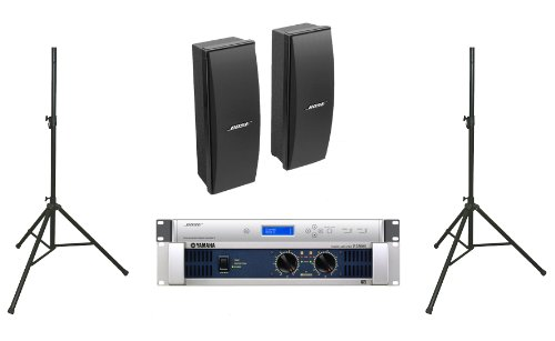 Bose 402 Ii Loudspeakers Bose Pro Audio Portable Sound System Package Includes Yamaha P2500S Amplifier