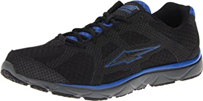 AVIA  Men's Avi-Vector Running Shoe,Black/Royal Blue/Iron Grey,11.5 M US