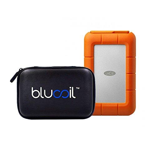 lacie-4tb-2-x-2tb-rugged-raid-thunderbolt-usb-30-mobile-hard-drive-stfa4000400-plus-blucoil-hard-dri