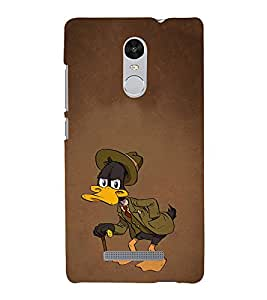 EPICCASE Wicked Old Duck Mobile Back Case Cover For Xiaomi Redmi Note 3 (Designer Case)