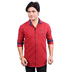 Aedi Mens Casual Cotton Shirts