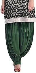 Sohniye Womens Viscose Patiala [GAKP23_Green_Free Size]