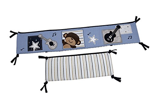 Carter'S Monkey Collection Traditional Padded Bumper front-137724