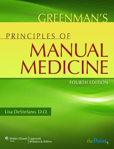 Greenman's Principles of Manual Medicine (Point (Lippincott Williams & Wilkins))