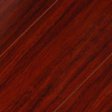 Bevel Edge Laminate Flooring Rosewood Piano Finish High Gloss 8mm Floor