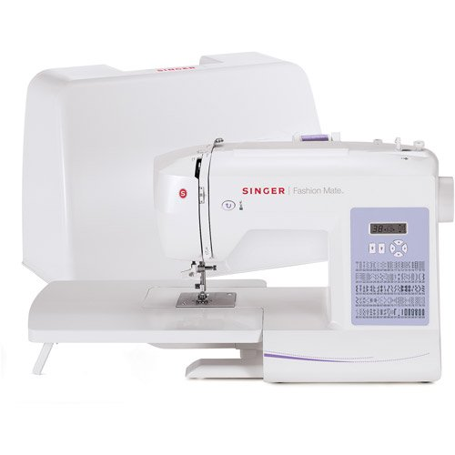 SINGER 5500 Fashion Mate Sewing Machine with Automatic Features, 100 Built-In Stitches, Extension Table and Hard-Sided Case