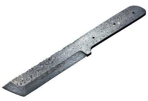 Damascus Knife Blank Blade Making Tanto Hunting Skinning Skinner Best Steel
