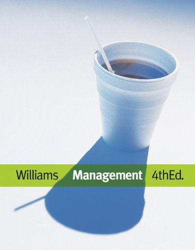 Management (with InfoTrac 1-Semester Printed Access Card) (Available Titles CengageNOW)