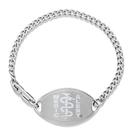 womens-medicalertr-stainless-steel-medical-id-bracelet-w-white-emblem-percocet-allergy