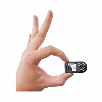 KOAMILY Mini Cam Hidden Spy Camera 1280x720P Video Recorder Security Voice Recording Free a 8GB SD Card at amazon