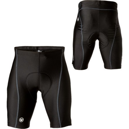 Buy Low Price Canari Elite Cycling Shorts (For Men) – BLACK (B0053X1RYW)