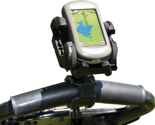 Bracketron RWA-201-BL Golf Cart Mount with Grip-iT for GPS
