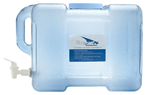 Bluewave Lifestyle BPA Free Portable Refrigerator Bottle with Valve, 3 gallon (Plastic Beverage Jug compare prices)