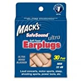 Mack's SafeSound Ultra Foam Earplugs - 30 pair-60, count, 30 pair