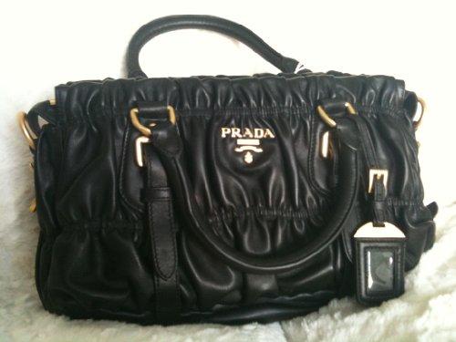 Prada Handbag Leather BN1407