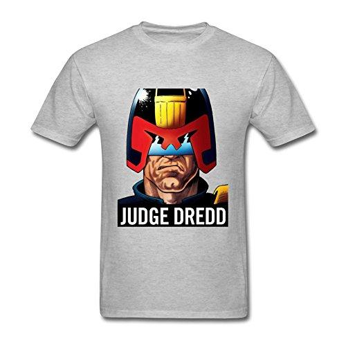 CHENGXINGDA Men's Judge Dredd Cartoon T-shirt XL ColorName Tee