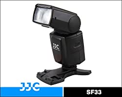 JJC SF33 Manual Camera Flash/ Speedlite For Nikon Canon Panasonic Fuji Olympus