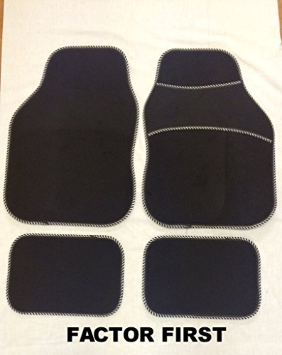 mitsubishi-asx-2010-new-silver-bead-universal-car-carpet-floor-mats-set-of-4-front-rear