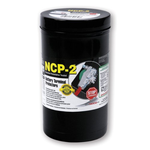 NOCO CC704S NCP-2 Grey Top/Side Post Battery Corrosion Terminal Protector, (Pack of 100)