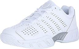 K-Swiss Men\'s Bigshot Light 2.5? White/White Synthetic Leather Sneaker 10 D (M)