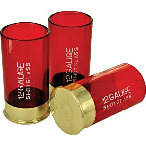 Shotgun 12 Gauge Shot Glasses