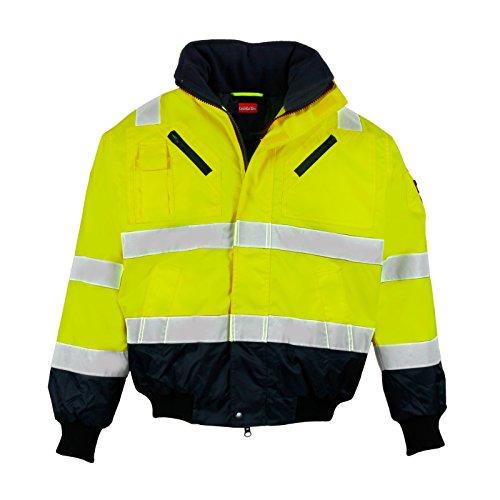 warnschutz-pilotenjacke-winter-gefuttert-feste-armel-m-neongelb-marine-winddicht-wasserabweisend-abg