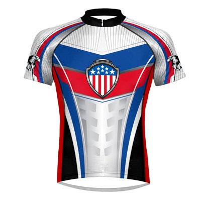 Buy Low Price Primal Wear Glory Cycling Jersey Men's Short Sleeve 5XL (GLO1J20M5)