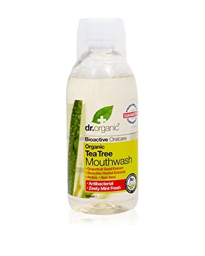 Dr. Organic Set Collutorio 6 pezzi Tea Tree 3000 ml