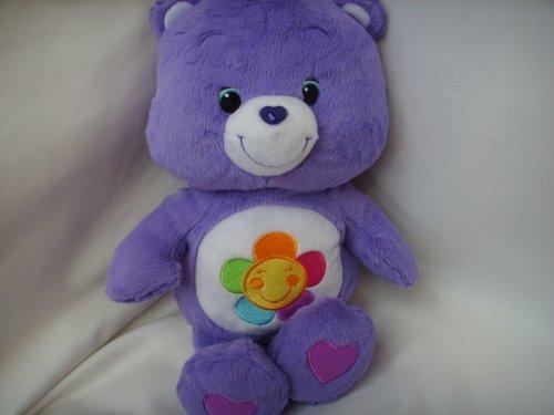 "Purple Care Bear Harmony 13"" Super Soft Plush Toy - 1"