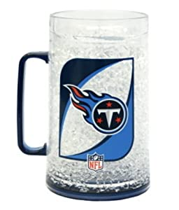NFL Tennessee Titans 36-Ounce Crystal Freezer Monster Mug by Duck House