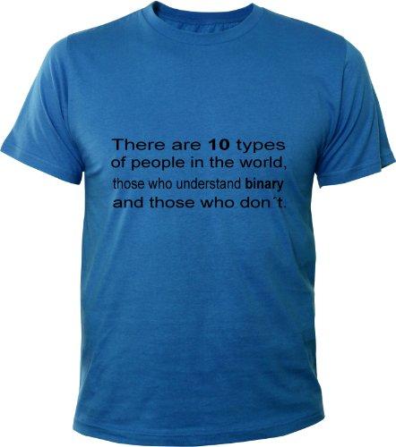 Mister Merchandise -  T-shirt - Maniche corte  - Uomo Blu Royal M