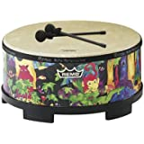 Remo KIDS PERCUSSION, Gathering Drum, 16 Diameter, 8 Height,  Rain Forest Fabric