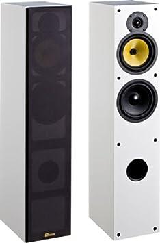 Davis Acoustics Maya Paire d'enceintes colonnes 3 Voies 120 W Blanc Mat- 1-enceintes