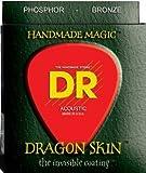 DR Strings DSA-11 Dragon Skin K3 Coated Acoustic Strings 11-50 Medium-Light