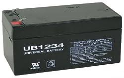 Battery-Biz Inc. 12 Volt 3 Ah SLA UPS Battery