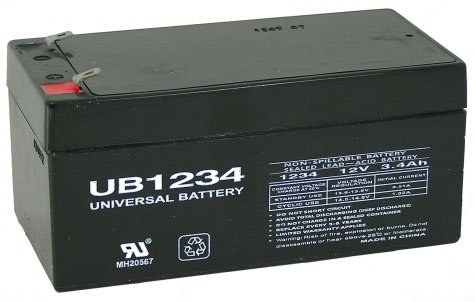 Replacement part For Toro Lawn mower # 106-8397 BATTERY-12 VOLT